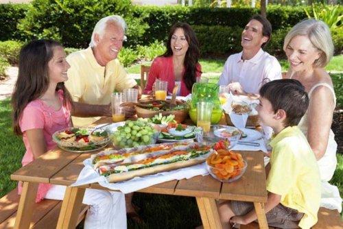 La alimentación correcta en la tercera edad