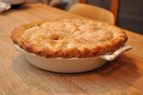 Receta de la tarta de manzana americana